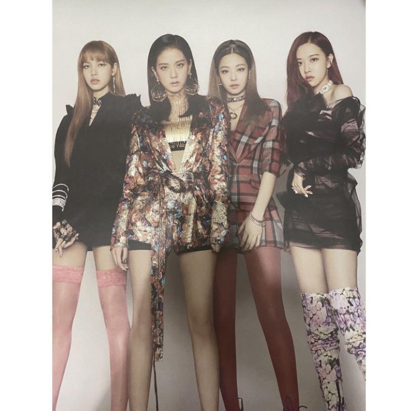 BLACKPINK DOUBLE SIDED POSTER SQUARE UP