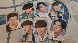 BTS photocard official from samsung