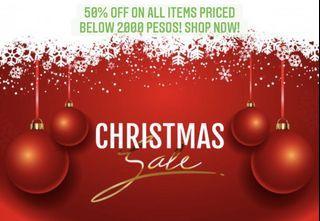 Christmas Sale! 50% off!