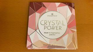 essence 艾森絲crystal power魔幻水晶訂製頰彩盤