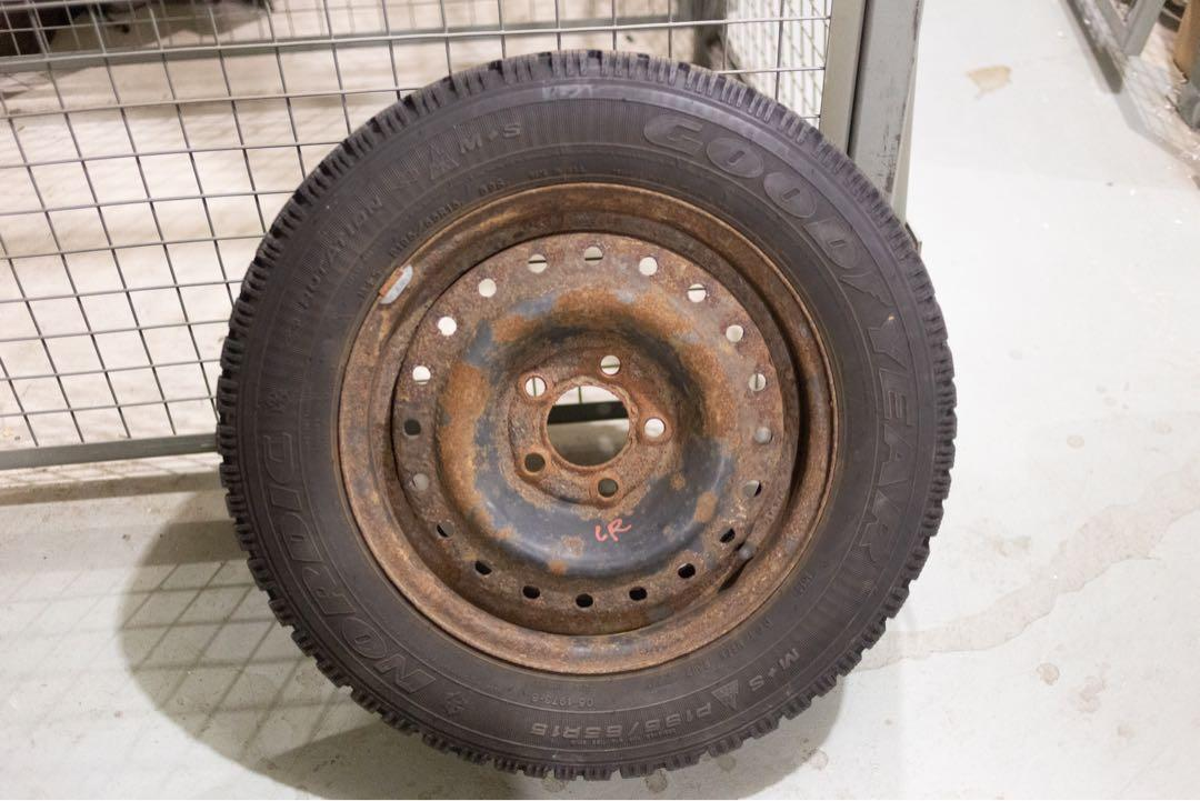 195/65/R15 - Goodyear Nordic Winter tires (Set of 4)