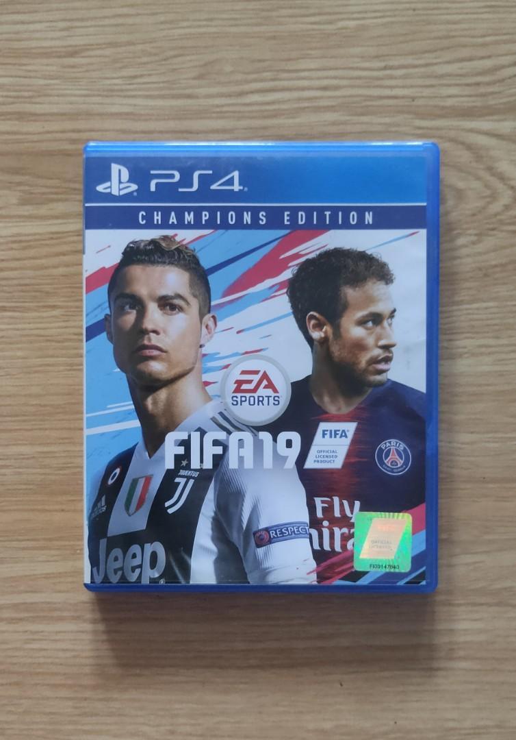 Kaset PS4 BD FIFA 2019 Original