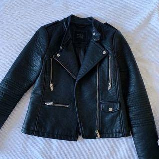Leather Jacket - brand new condition