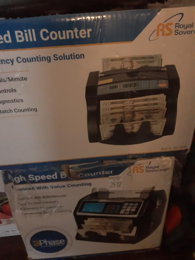 Money counter brand new