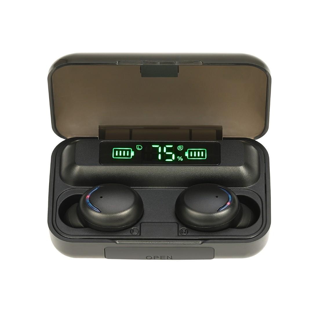 TWS Bluetooth 5.0 Wireless Earphones Waterproof HD Stereo Earbuds