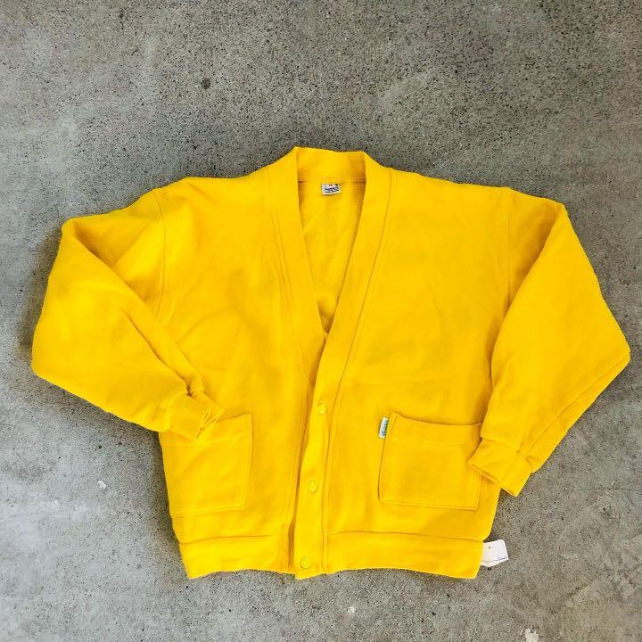Vintage Yellow Kawaii Jacket