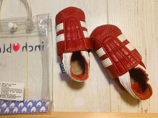 9成新 inch blue 英國嬰兒手工鞋 6-12M