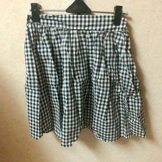 格紋短裙 裙