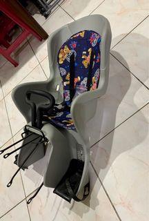 台灣製 豪華型 腳踏車/自行車 後座兒童安全座椅 (大) 有手握