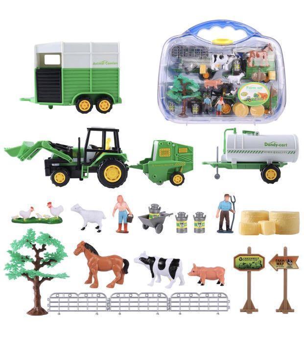 Brand new  Farm Toys Set with Farm Animals for Kids