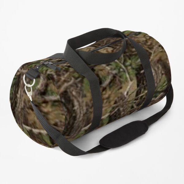 Camouflaged DUFFLE BAG