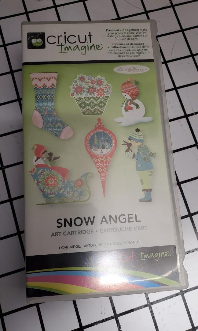 Cricut Imagine Snow Angel cartridge
