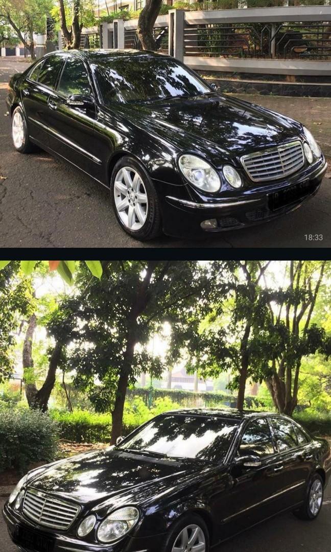 DIJUAL! Mercedes Benz W211 E240 ( 2004 )