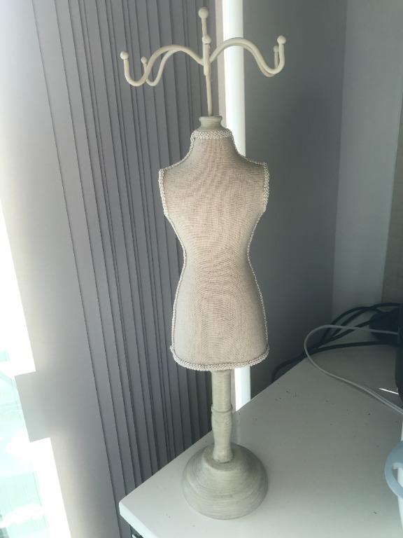 Dress Form Jewelry Stand