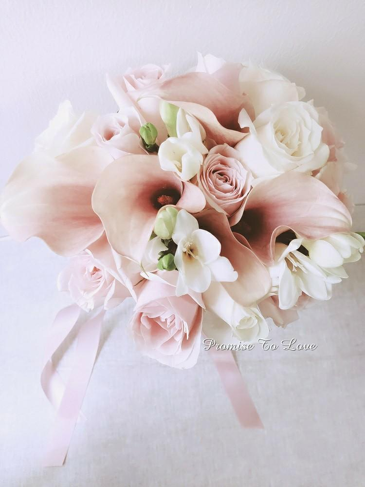 Fresh Calla Lilies Bridal Bouquet Gardening Flowers Bouquets On Carousell