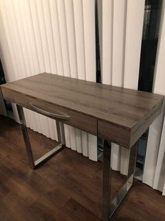 Gorgeous WOOD Desk with FREE Chair