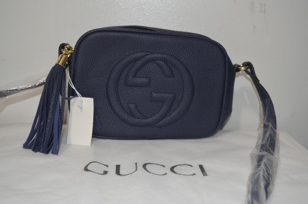 Gucci Soho Disco in Navy Blue