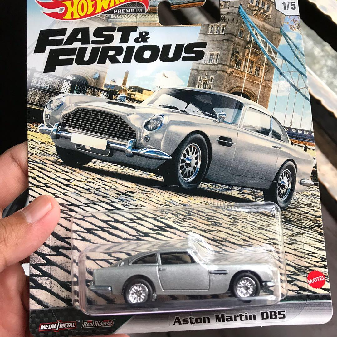 Hot Wheels Fast Furious Euro Fast Aston Martin Dbs Toys Games Diecast Toy Vehicles On Carousell