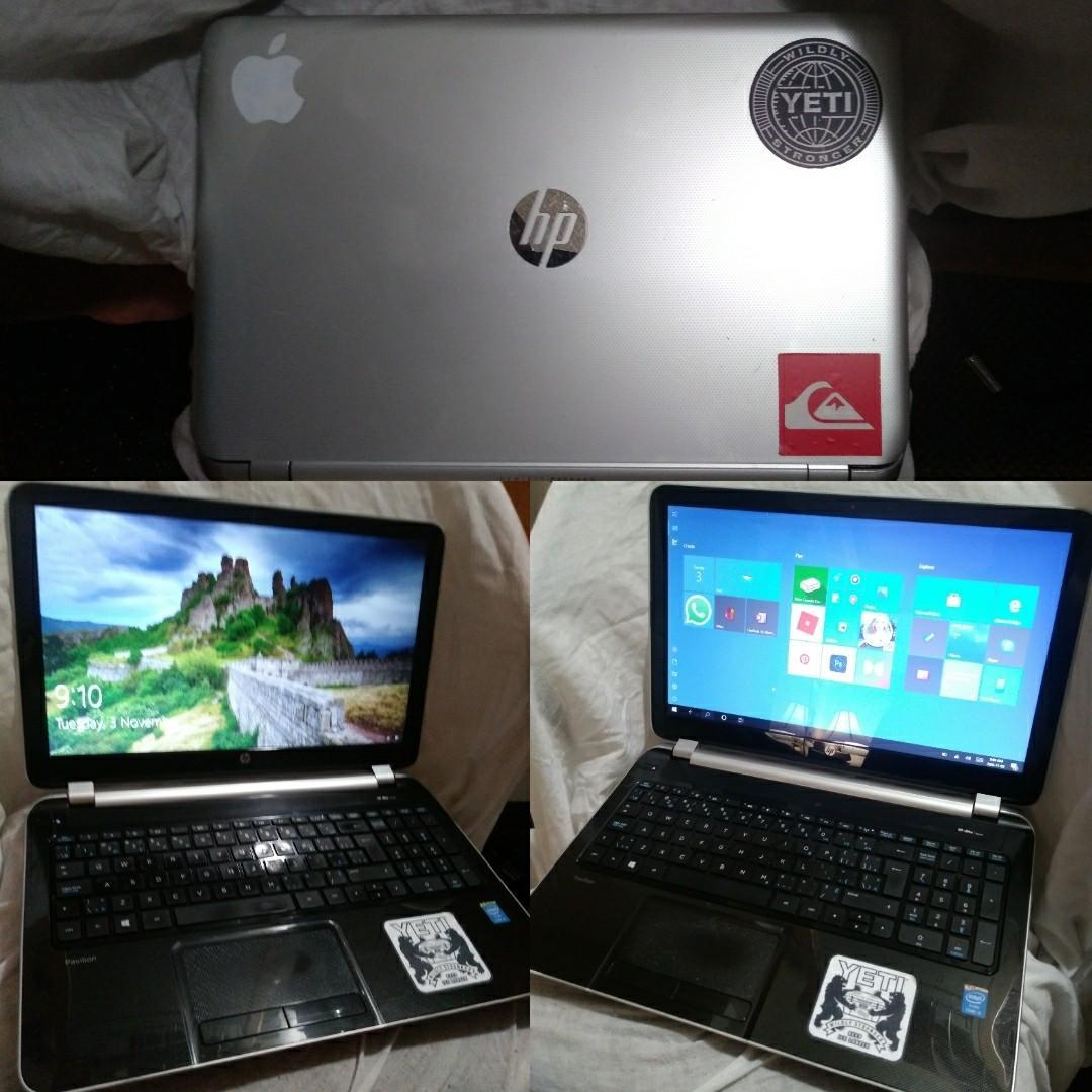 HP Pavillion 15-n233ca (Upgraded)
