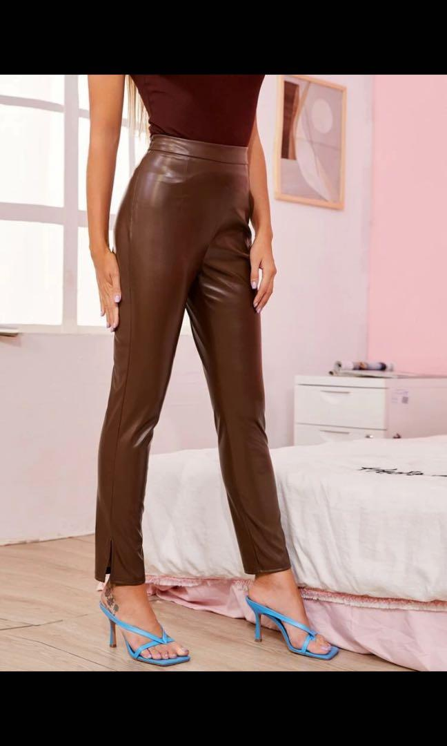 Leather pants brand new Shein size S