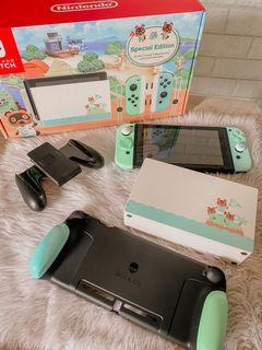 Limited Edition Animal Crossing V2 Switch