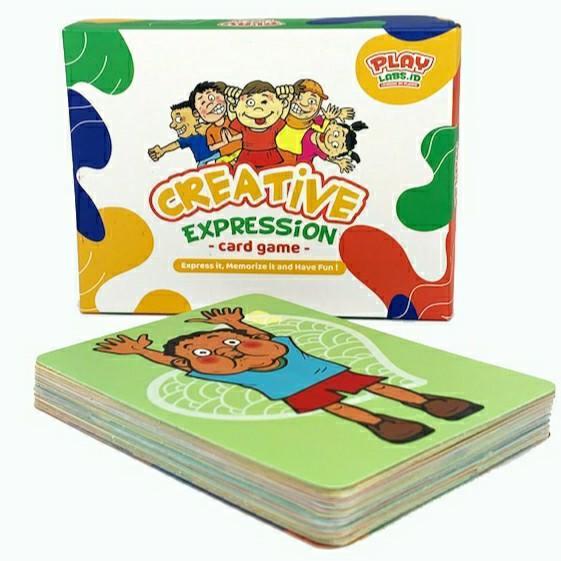 Mainan Anak CREATIVE EXPRESSION CARD GAME Kartu Interaktif
