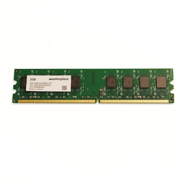 New_2GB PC2-6400 DDR2-800 UBDIMM UDIMM 2Rx8 2G desktop IPC