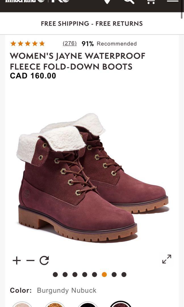 Timberland Waterproof Boots- Size 6