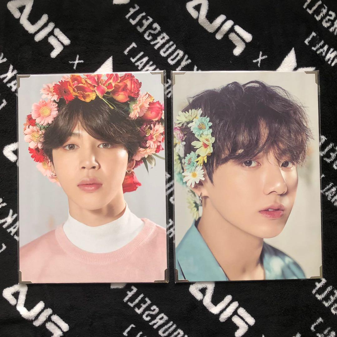 Wts Bts Jimin Jungkook Love Yourself Tour Premium Photo Entertainment K Wave On Carousell