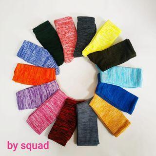 12 pasang kaos kaki motif warna kaos kaki panjang pria wanita murah warna mix