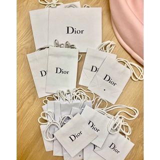 現貨 全新 正品 Dior 迪奧 名牌 名品 化妝品 包裝 禮物 防塵袋 防塵套 保護套 正版 原廠 紙袋 提袋 白色