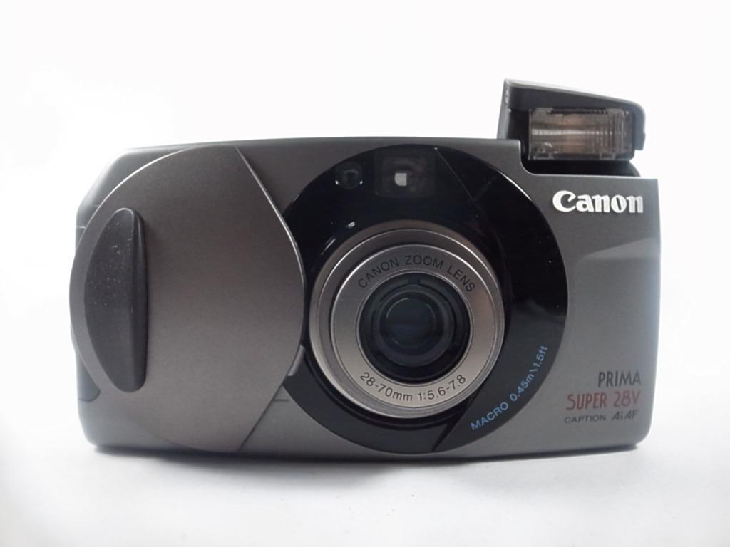 [一直攝] Canon Prima Super 28V 底片相機