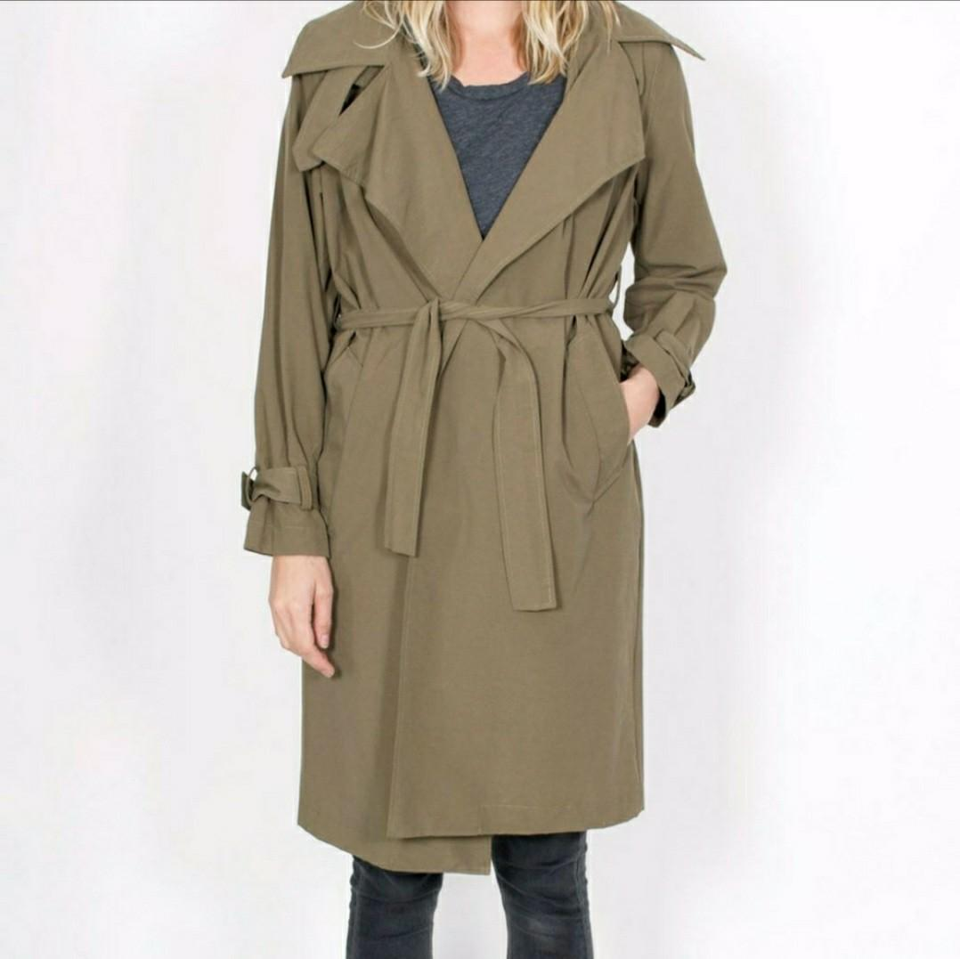 Anthropologie John + Jenn Marlowe trench coat