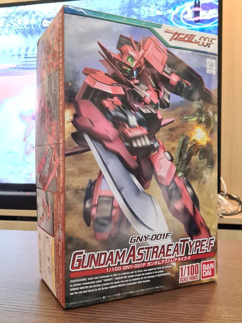 Bandai Gundam Astrea Type F Gundam 00 Gunpla Toys Games Bricks Figurines On Carousell