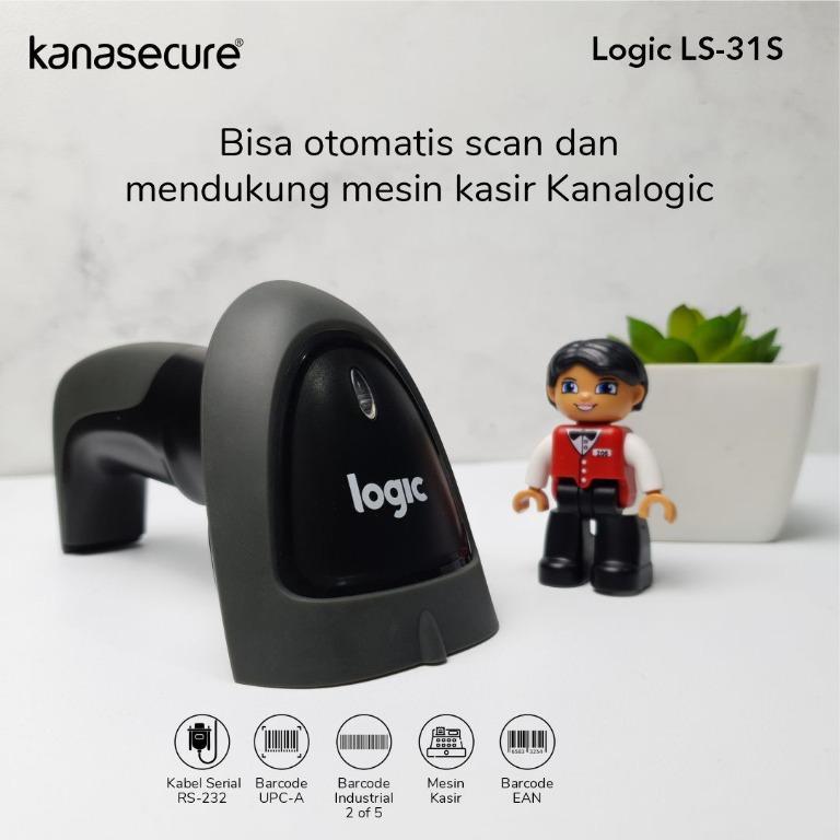 Barcode Scanner Serial Logic LS-31 S