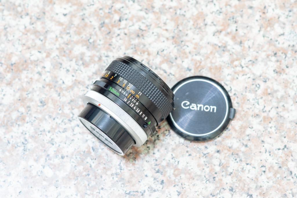 Canon FD 50mm F1.4 SSC
