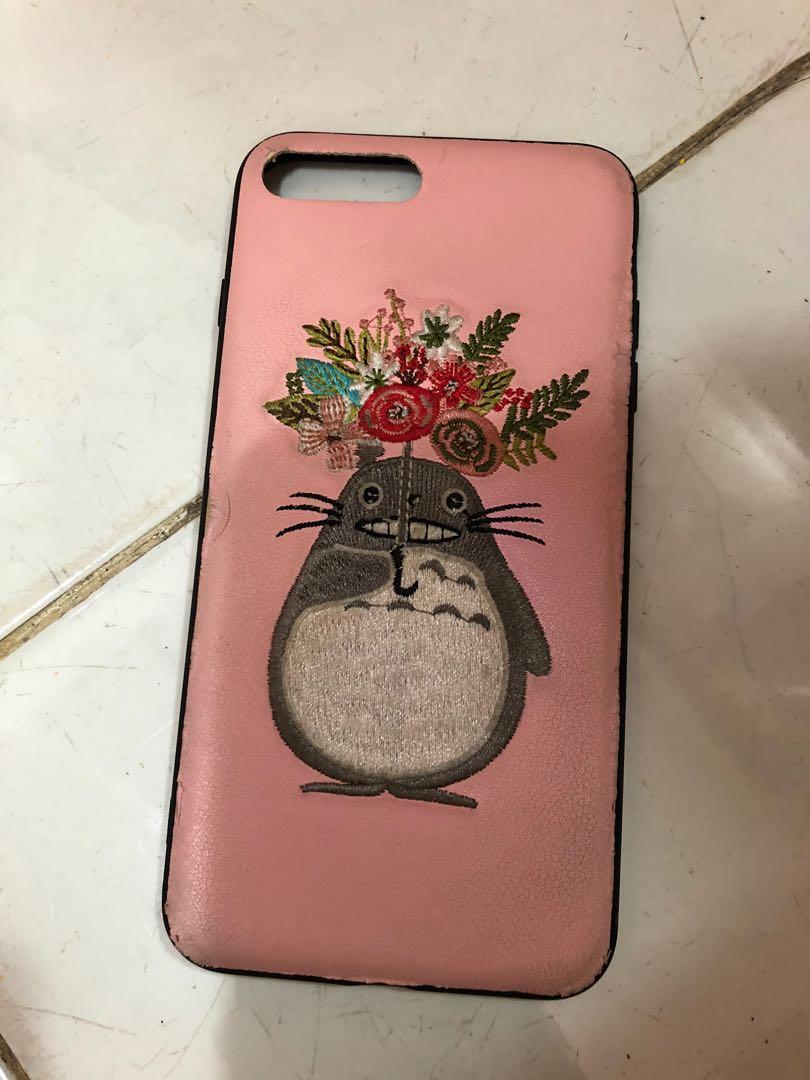 Case iPhone 8+ plus totoro hard case
