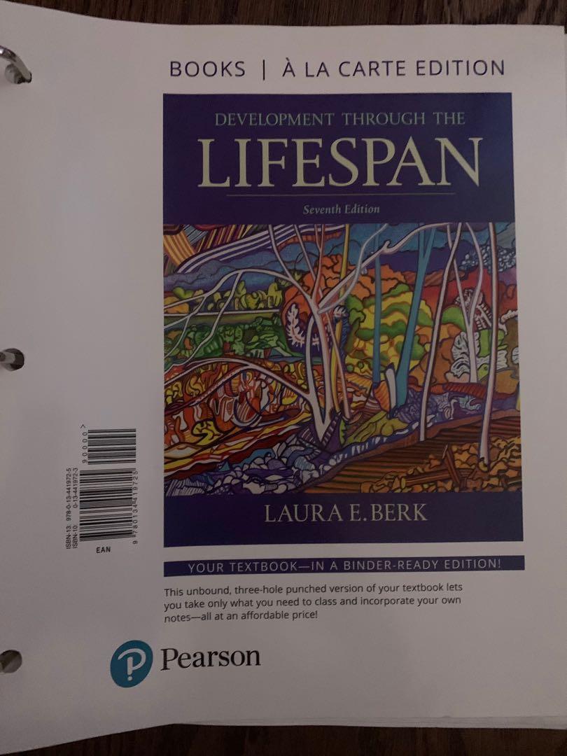 ECE TEXTBOOK-Development Through the Lifespan 7th edition