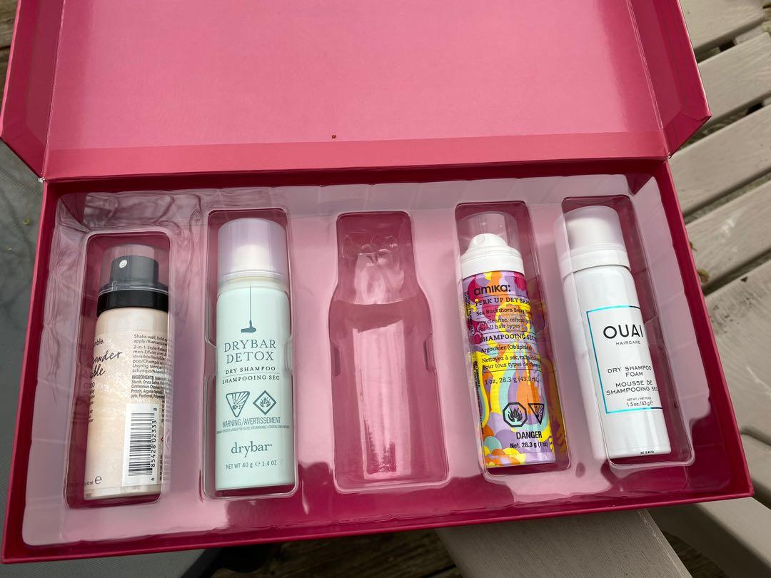dry shampoo collection