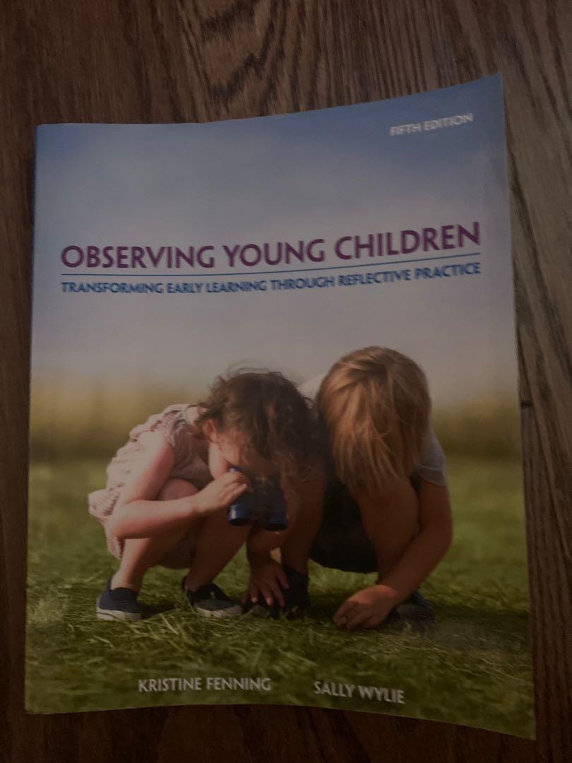 ECE TEXTBOOK-Observing Young Children  5th edition