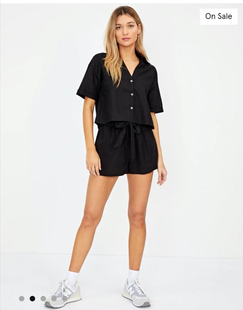 Glassons black shirt size 10