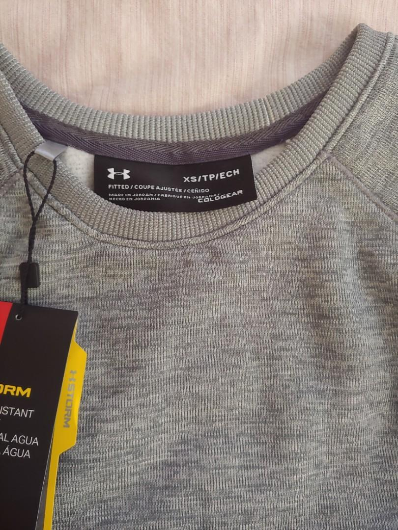 Grey under Armour sweater