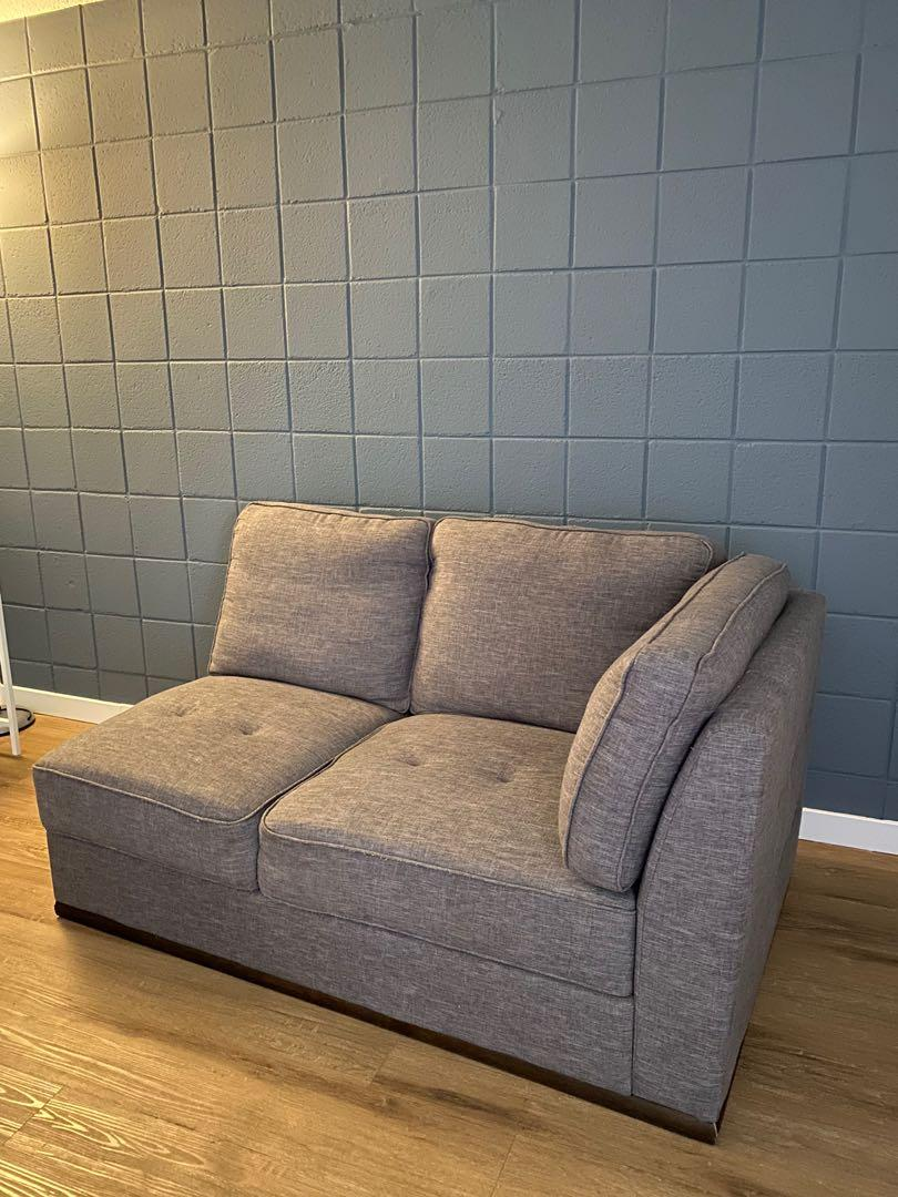 Half of an L couch