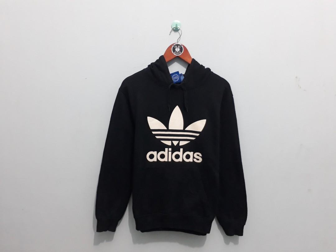 Hoodie Adidas 3foil big logo BW