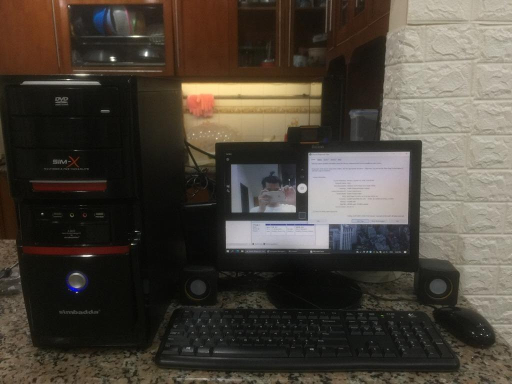 Jual Satu Set PC Online 8gb
