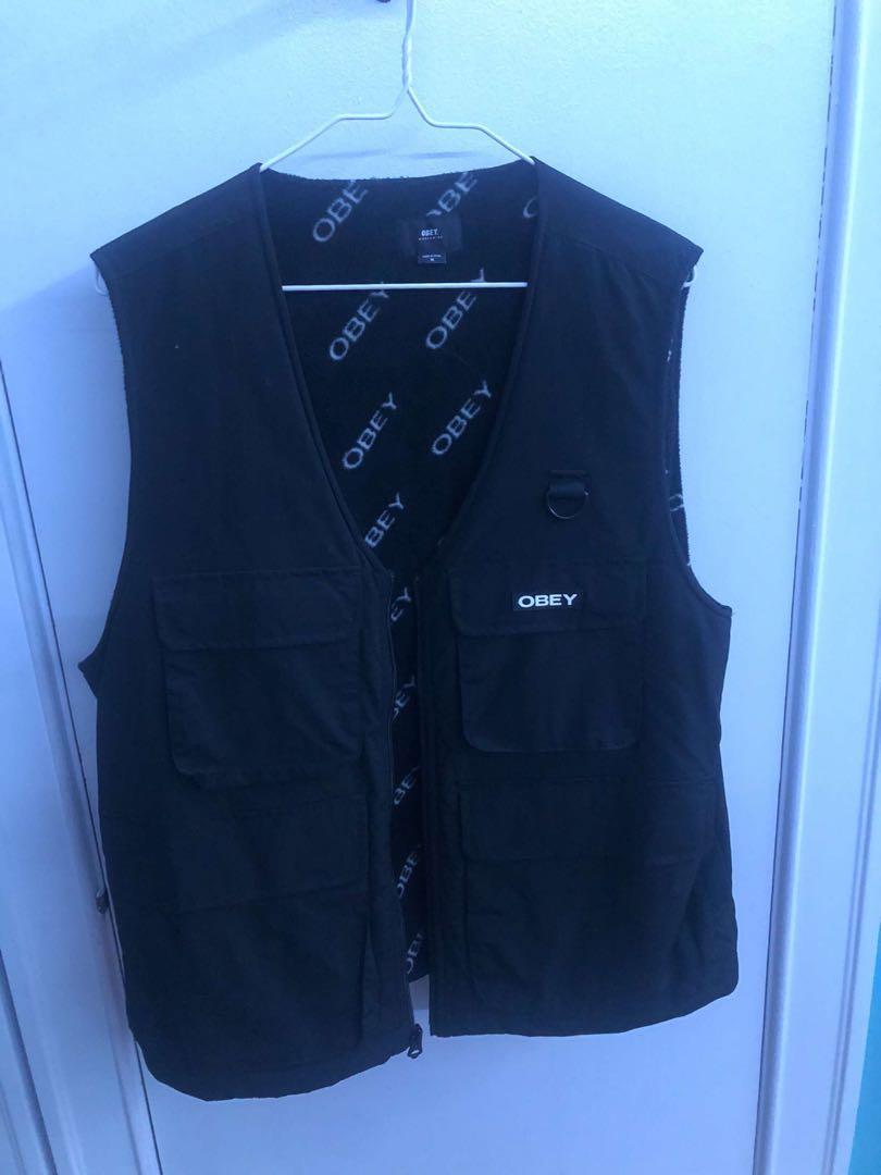 Men's obey vest