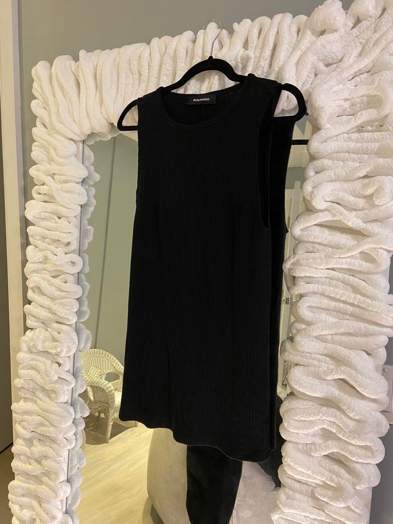 Reformation little black dress