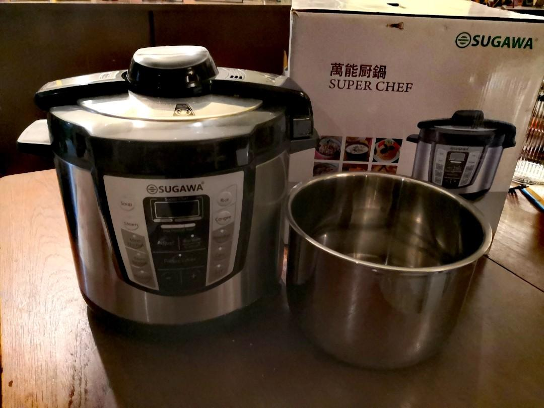 Sugawa Super Chef Pressure Cooker Kitchen Appliances On Carousell