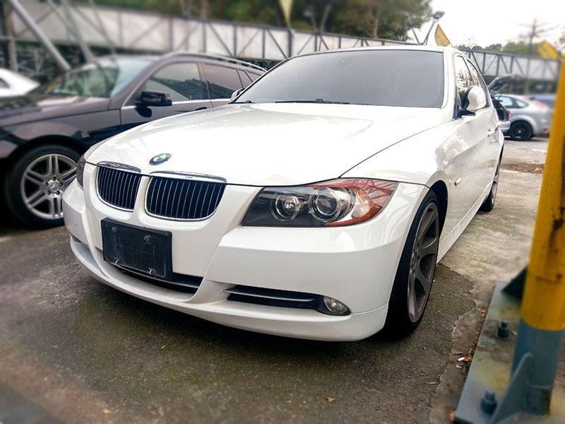 2008 BMW 335I 3.0 白 配合全額貸、找 錢超額貸 FB搜尋 : 『阿文の圓夢車坊』