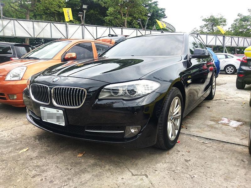 2011 BMW 523 2.5 黑 配合全額貸、找 錢超額貸 FB搜尋 : 『阿文の圓夢車坊』